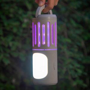 lampe anti moustiques 3 en 1
