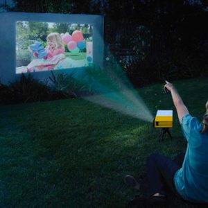mini projecteur HD