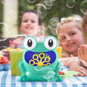 froggly-grenouille-machine à bulles-savon-automatique-électrique-jeu-enfant-jardin-amusant-fête-anniversaire-gadget-design-été-3
