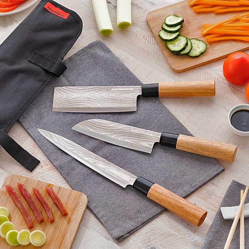 Damas-couteaux-japonais-housse-transport-cuisine