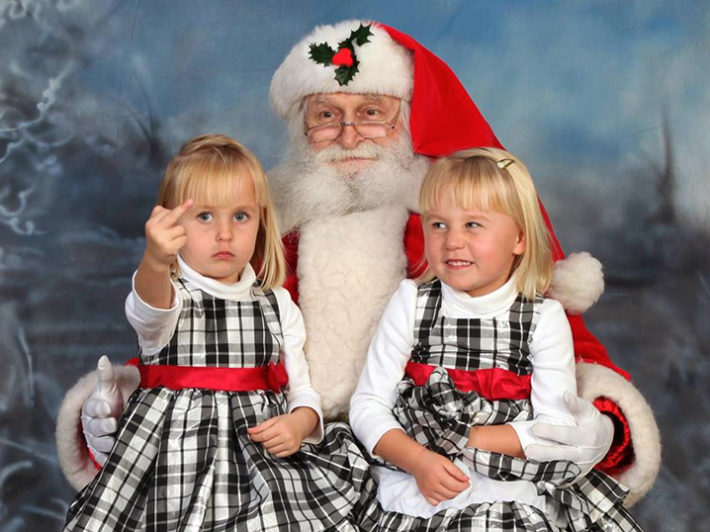 Santa is NOT coming